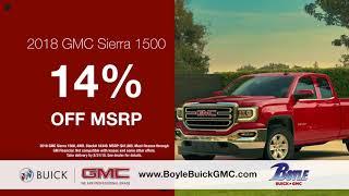 Boyle Buick GMC-  Celebrating Labor Day All Month Long!