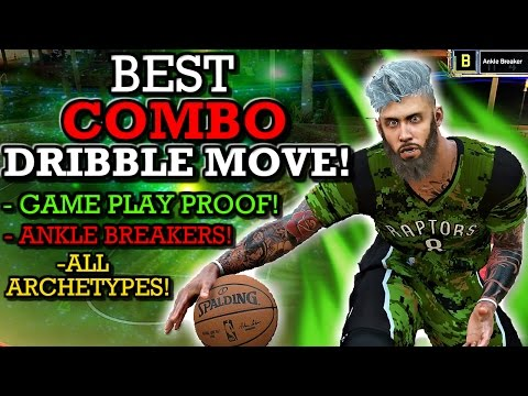 NBA 2K17 BEST COMBO DRIBBLE MOVE!! (ALL ARCHETYPES! GAME PLAY PROOF! GETS SO MANY ANKLE BREAKERS!!)