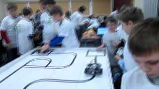 Соревнования роботов в Москве!