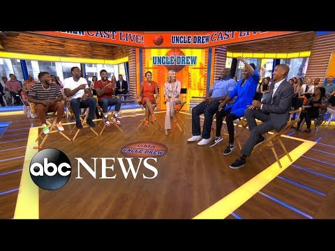 'Uncle Drew' cast takes over 'GMA'