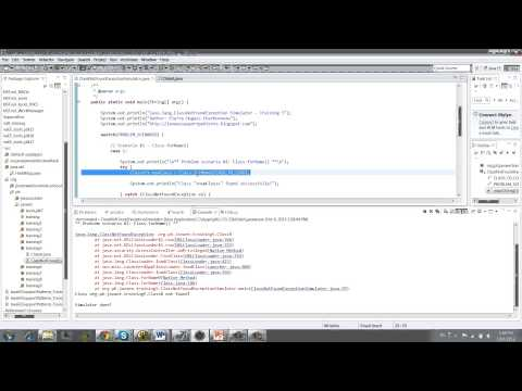 Java.lang.ClassNotFoundException