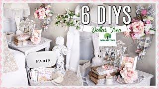 💖6 DIY DOLLAR TREE FRENCH CHIC DECOR CRAFTS /GLAM/ BRIDAL 💖 Olivia's Romantic Home DIYS