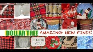DOLLAR TREE CHRISTMAS 2019 OMG! AMAZING NEW FINDS • NOVEMBER 28 2019