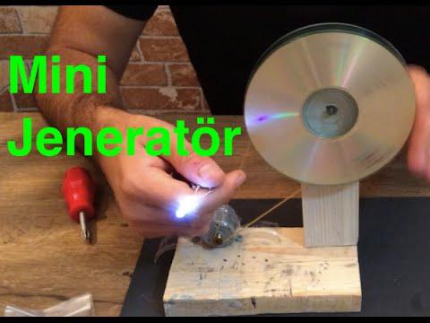 Ev Yapımı Mini Jeneratör , Kendin Yap , Mini Generator , Diy