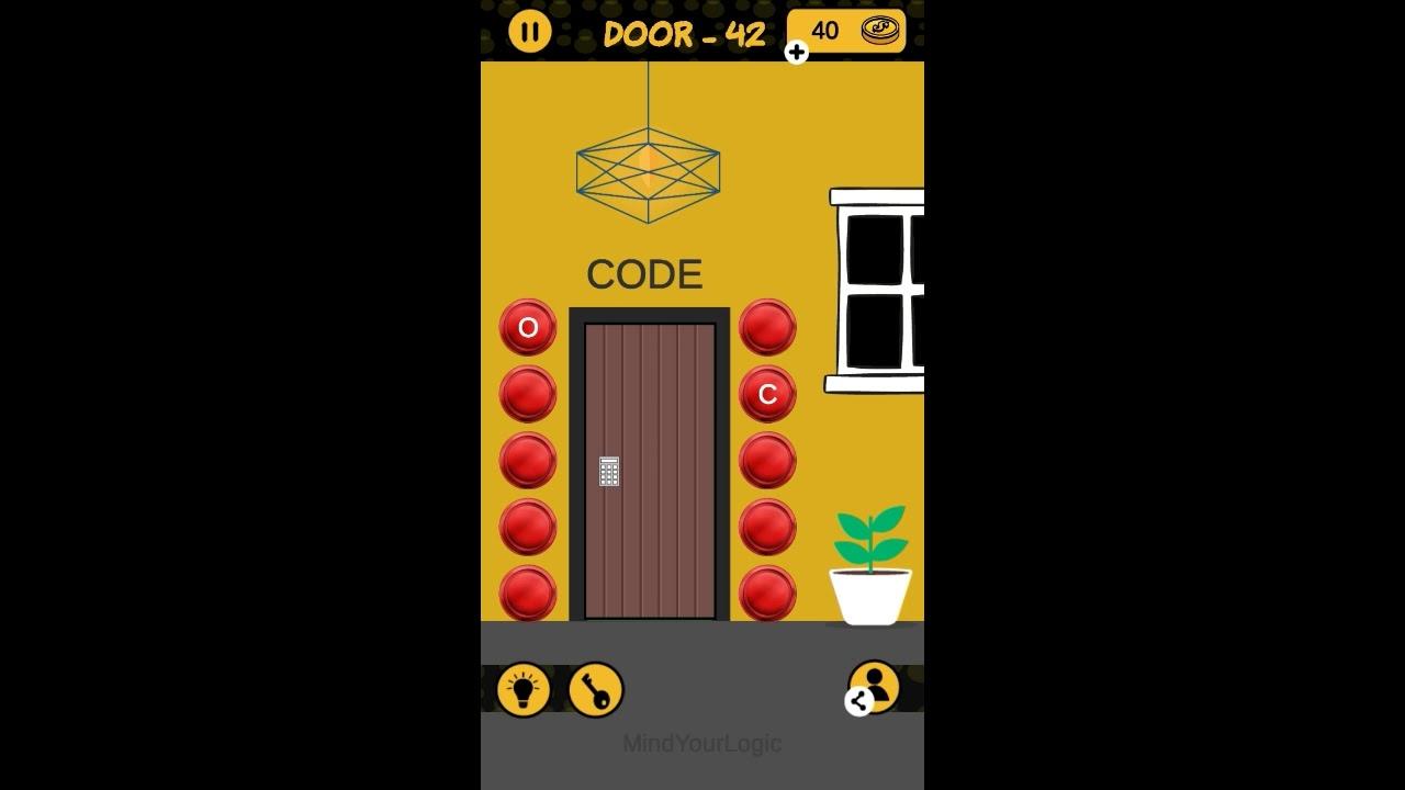 The 4 Digit Code Door 41 42 43 44 45 Walkthrough