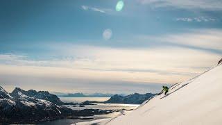 Skitouren in Norwegen auf den Lofoten