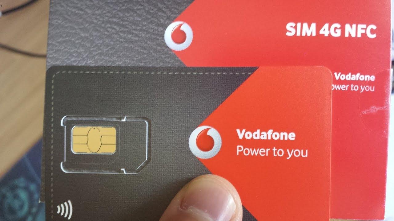 Vodafone Gratis Sim