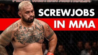 MMA's 10 Biggest Screwjobs