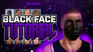 BLACK FACE GLITCH IN NBA 2K19!!! • *NEW TAZ FACE* • SECRET RARE FACE SCAN!!!