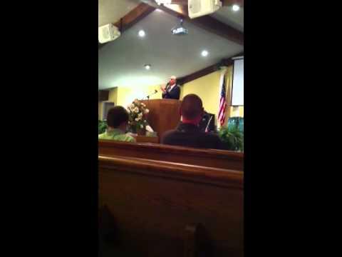Pastor TIdwell, Good apostolic preaching