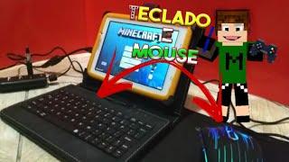 COMO JOGAR MINECRAFT PE COM TECLADO E MOUSE  (ATUALIZADO 2018)