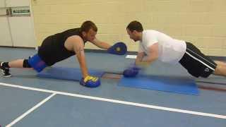 Boxercise Drills At Erith School Community Sports Centre