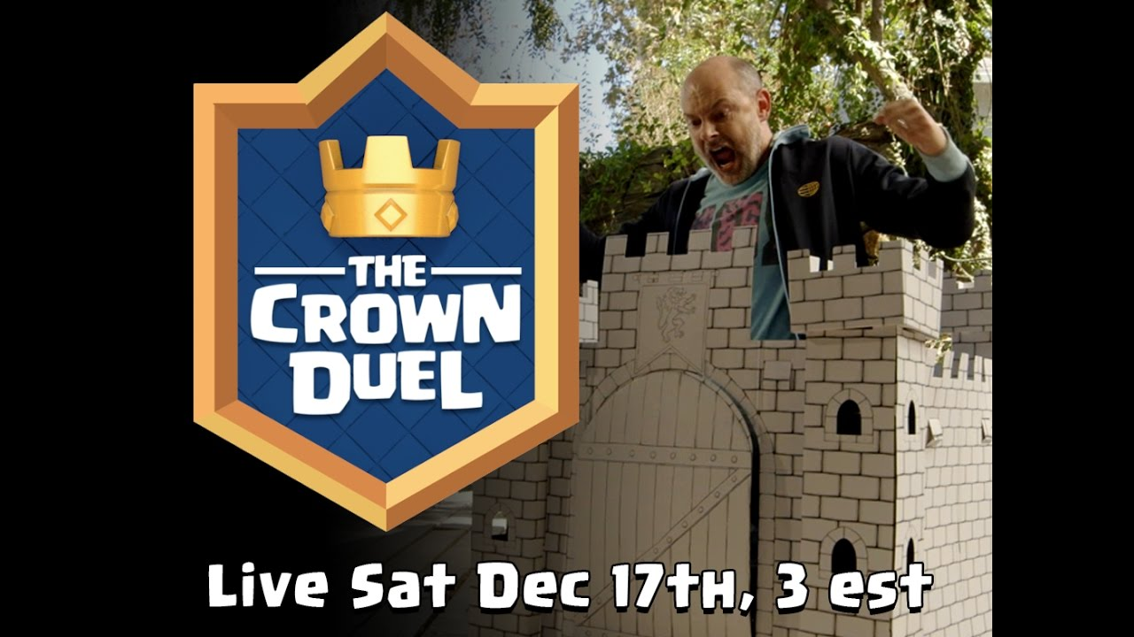 Clash Royale: The Crown Duel (Official Tournament Announcement ...