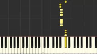 Tomalo - Hillsong en piano (synthesia)