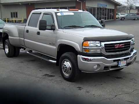 Chevy 3500 Diesel For Sale 2006 Gmc Sierra 3500, crew cab diesel dually, from ...