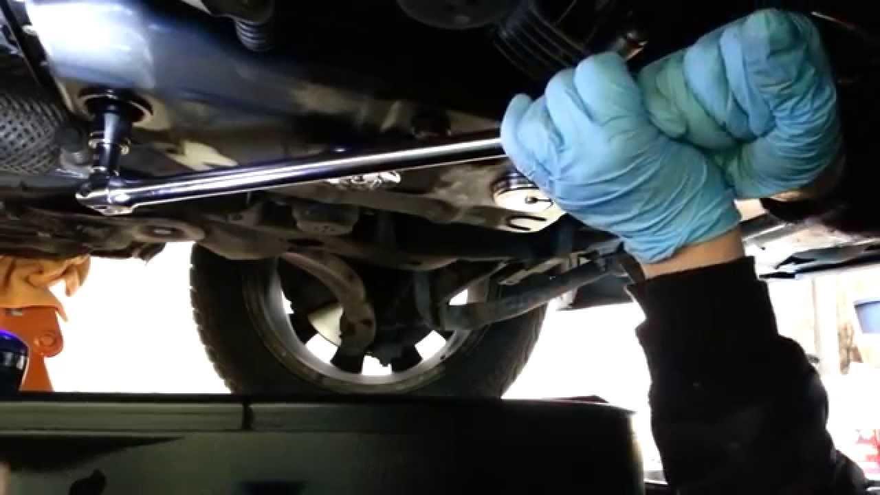 o1v zf tiptronic transmission fluid filter change w motor oil change audi a4 [ 1280 x 720 Pixel ]