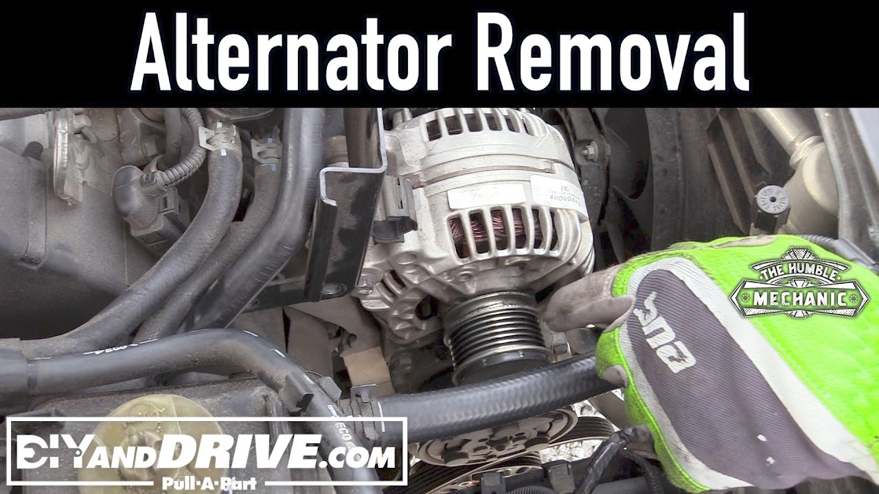 How To Remove A Vw Alternator Salvage Yard Tips Youtube 2 0 L Engine Belt Diagram