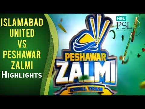 Match 23: Islamabad United vs Peshawar Zalmi - Highlights