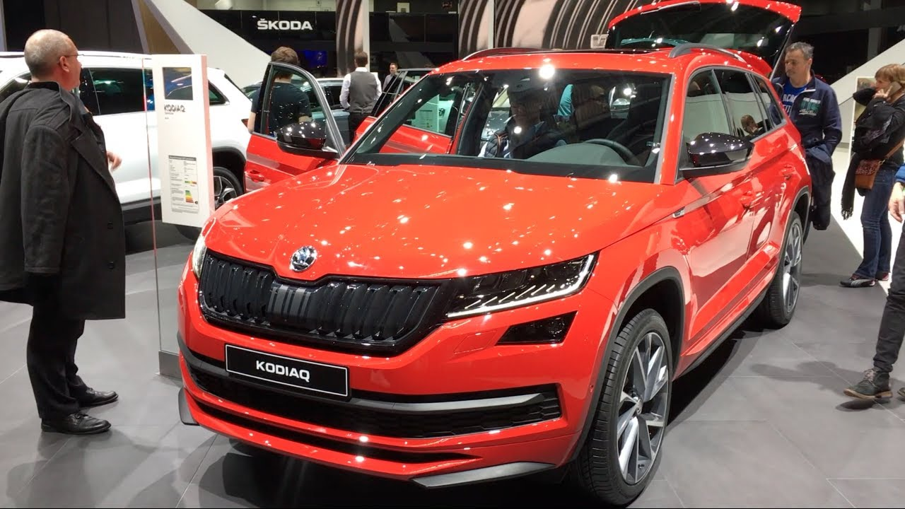 skoda kodiaq sportline 4x4 2017 in detail review walkaround interior exterior youtube. Black Bedroom Furniture Sets. Home Design Ideas