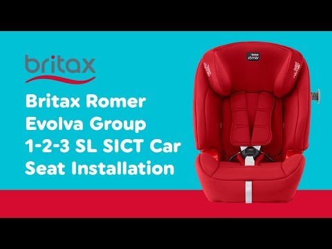 Installation Guide For Britax Romer - Evolva Group 1-2-3 SL SICT Car Seat| Smyths Toys