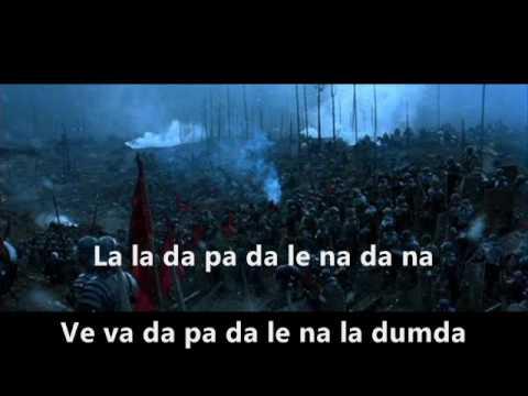 GLADIATOR.  Lisa Gerrard - Now We Are Free!  lyrics