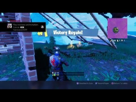Fortnite rickrollinxdx carry go subscribe to his channel