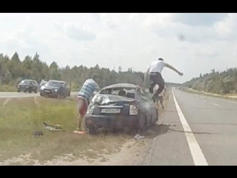 Russian Car Crash Compilation August 23 08 2016 Autounfälle in Russland
