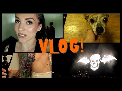 VLOG: September 8th-15th | A7X Concert, Tattoo, & Updates!