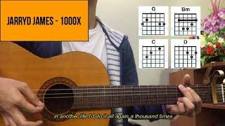 Chord gitar 1000x - JARRYD JAMES (Tutorial Gitar)