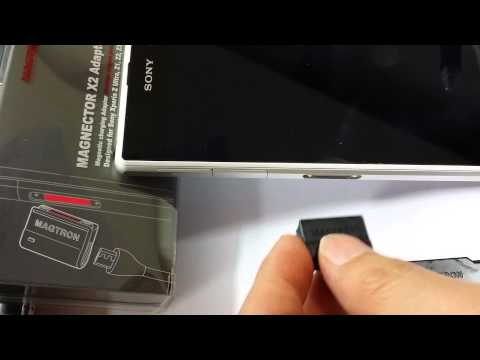 Magnector X2 charging adaptor for Sony Xperia