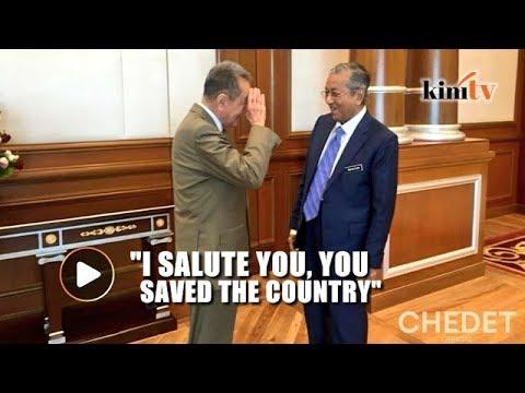 Robert Kuok meets Mahathir, salutes him for saving Malaysia