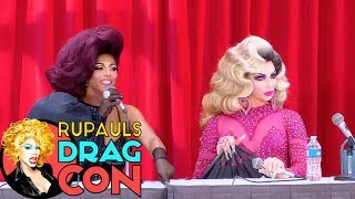 Alyssa's Secret with Shangela at RuPaul's DragCon 2017