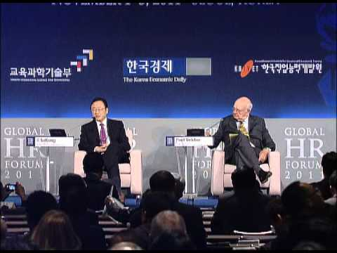 GHR Forum 2011: Keynote Speeches of Yukio Hatoyama and Paul Volcker