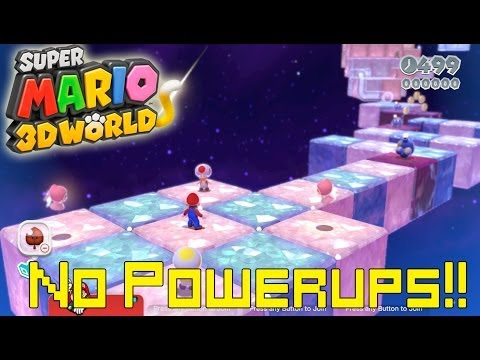 Super Mario 3D World *Final Level* (World Crown: Champion's Road No Power Ups Mario)