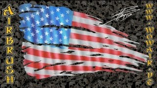 Torn US flag, From YouTubeVideos