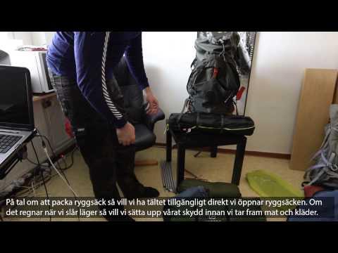 Trekking in Sweden 11 - Tent, bed, sleeping bag