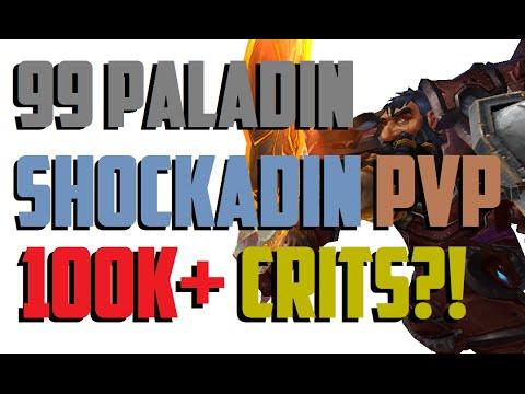 Doofensmirtz - Level 99 Shockadin/Holy Paladin Twink PvP - WoD Patch 6.2.2