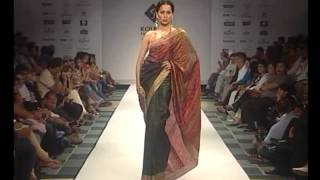 Satya Paul Saree Collection at Kolkata Fashion Week- Part II