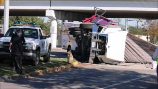 La Porte ambulance vs dump truck vehicle crash