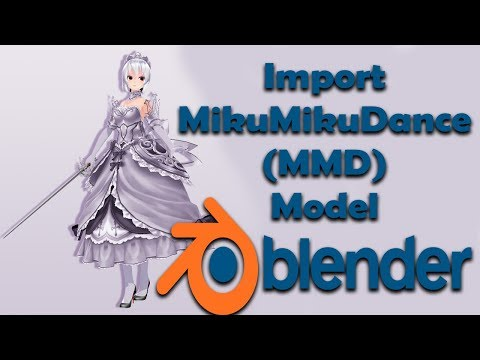 Download How To Export Blender Model To Pmx Pmd And Mmd