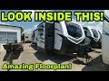 Wow! Awesome Travel trailer floorplan!