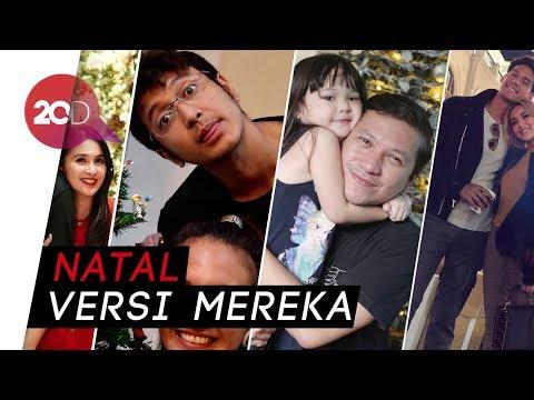 Suka Cita Para Artis Indonesia Saat Rayakan Natal