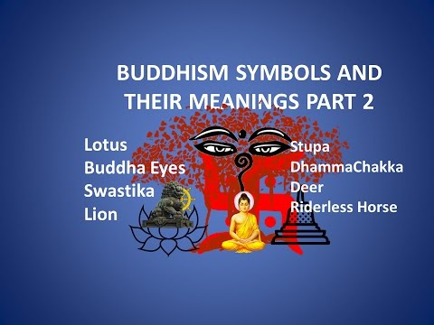 Buddhism Symbols And Their Meaningsbuddhism Youtube