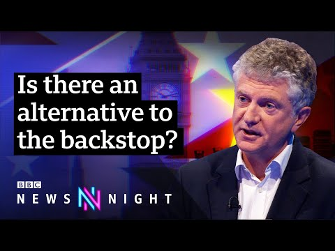 Brexit proposals: Jonathan Powell on NI backstop and 'identity' - BBC Newsnight
