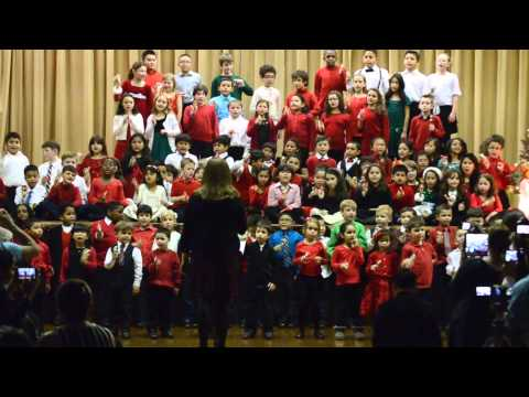 Christmas Concert 2014 at Resurrection Ascension School, Rego Park, NY