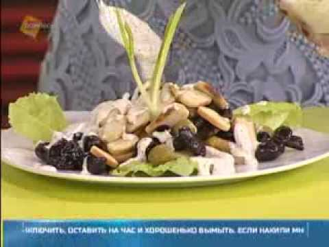 Салат с груздями