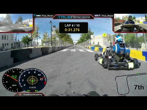 Shifter Kart Racing on the Streets of Lancaster 2015