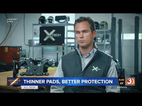 VIDEO:Company makes skinny shoulder pads