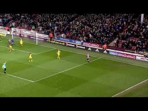 Blades 2-0 Burton - match action