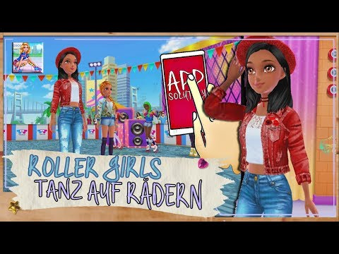 Roller Skating Girl - Tanz auf Rädern • Ich hab den Groove | App Game | Lets Play App-Solutely